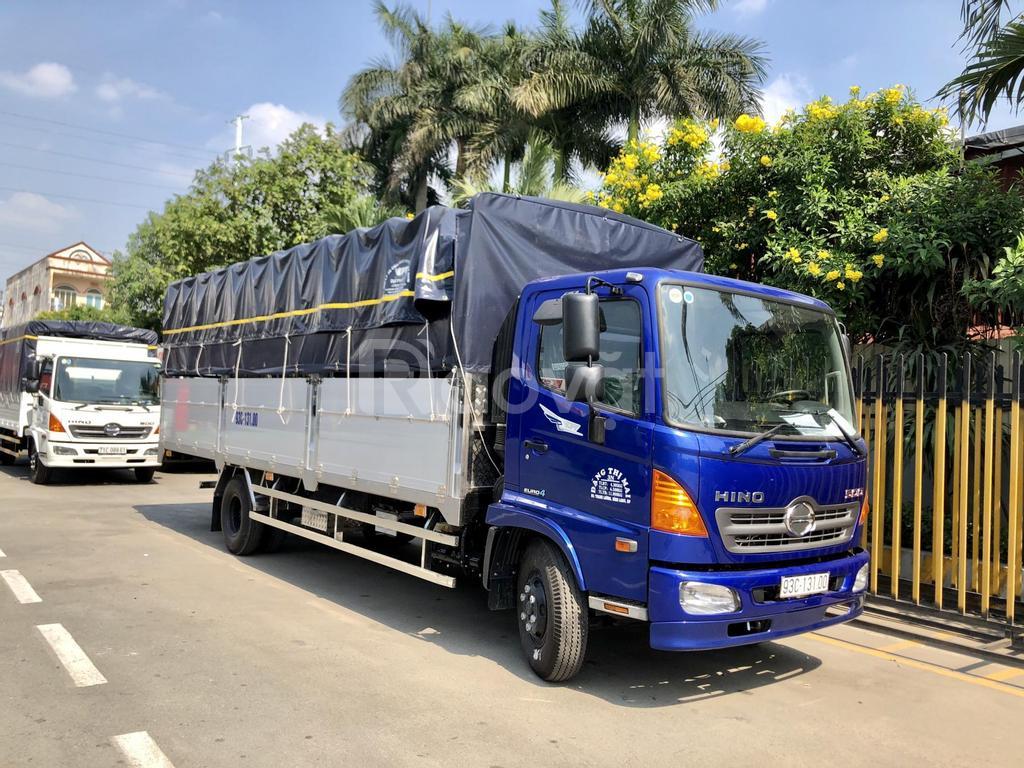 Xe tải Hino, FC9JLTC, 6,5 Tấn, thùng 6m7