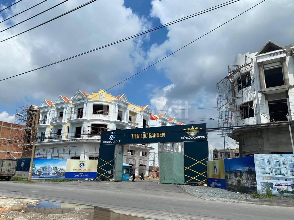 Nền biệt thự view đẹp dự án Tiến Lộc Garden, Nhơn Trạch