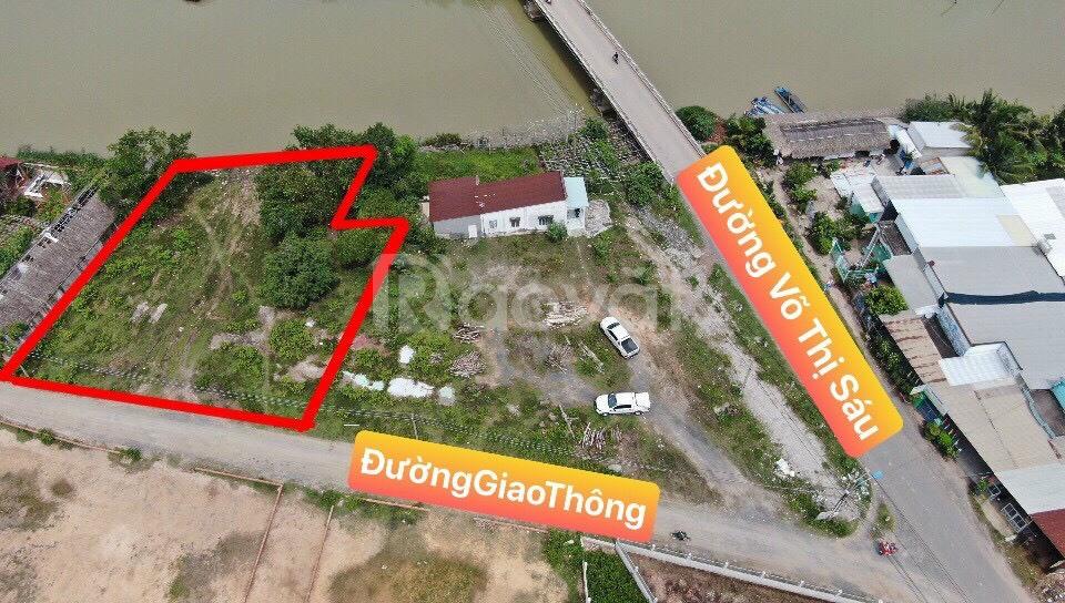 Đất Nhơn Trạch 1000m2 view sông sát đường Võ Thị Sáu, Phú Đông