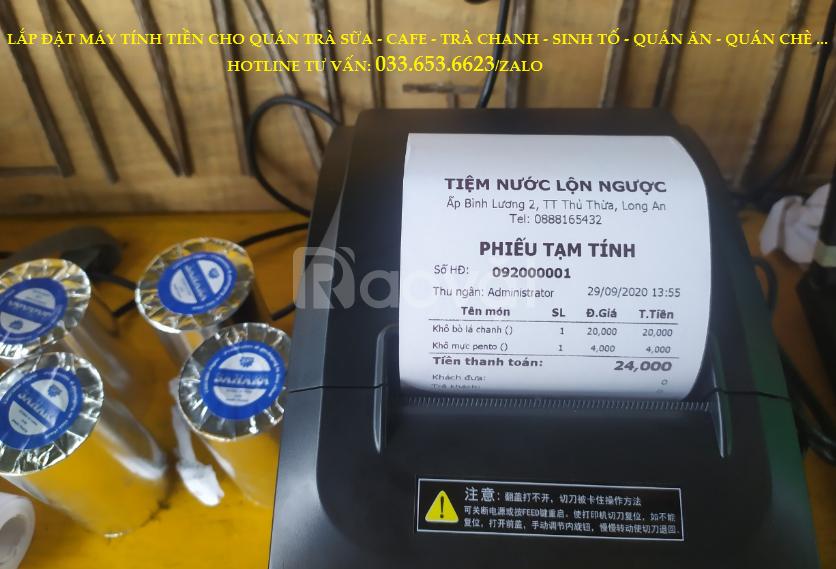 Bán máy tính tiền cho quán trà sữa, cafe tại Vũng Tàu