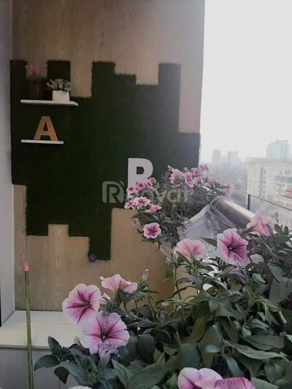 Bán gấp căn góc 75m2, 2PN, full nội thất, chung cư Tràng An Complex