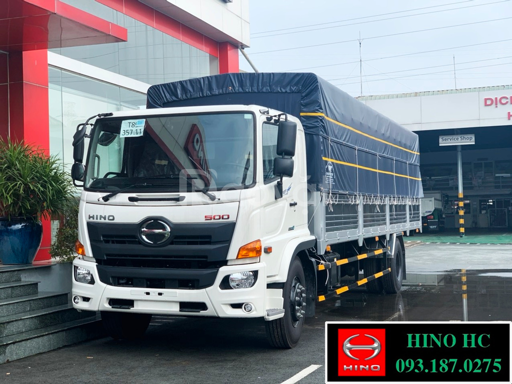 Dòng xe Hino FG8JT7A 2020 EURO 4, hỗ trợ phí trước bạ 1%