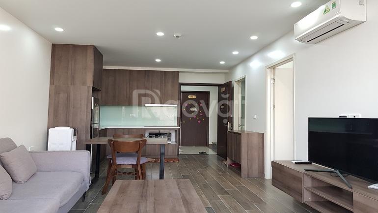 [ID: 877] Cho thuê căn hộ dịch vụ tại Tô Ngọc Vân, Tây Hồ, 50m2, 1PN, ban công, đầy đủ nội thất mới