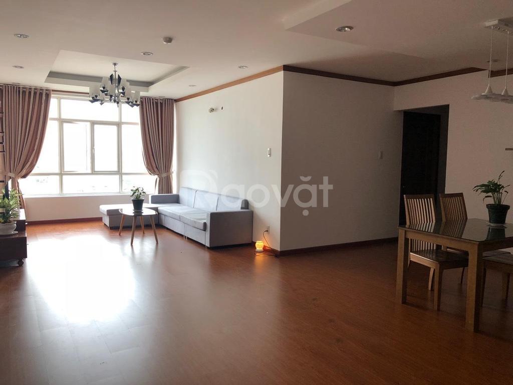 Cần cho thuê chung cư Giai Việt Hoàng Anh Q8, DT 115m2, 2PN, 2 WC