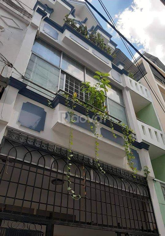 Bán nhà hẻm xe tải Hoàng Sa, Tân Bình, 4x14m, 4 tầng