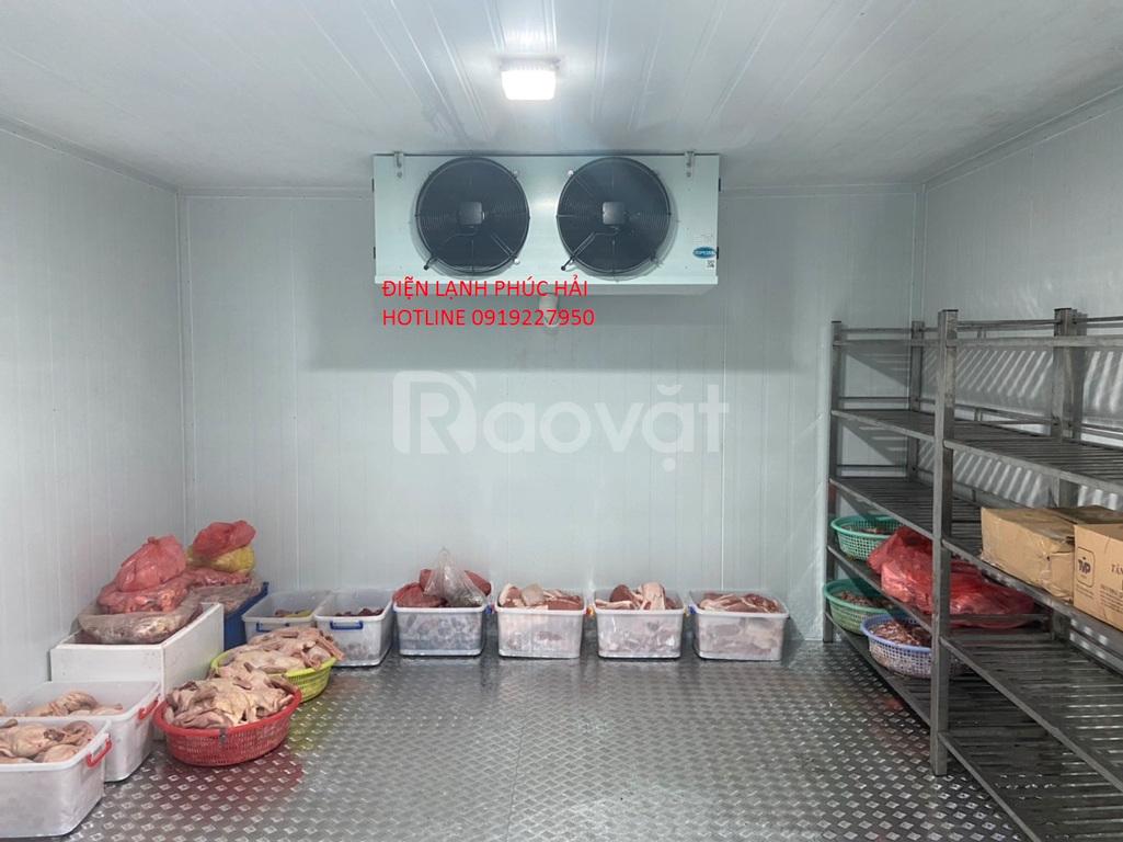 Thiết kế, thi công lắp đặt hệ thống kho lạnh bảo quản thực phẩm