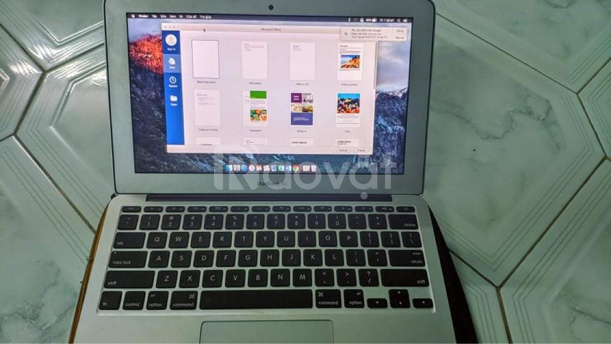 Macbook air 11.6inch 2015 core i5 ram 4gb