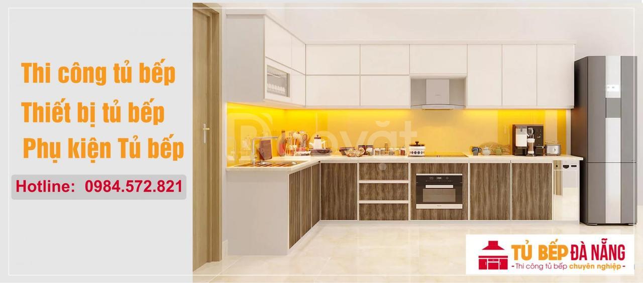 Thi công tủ bếp Acrylic tại Đà Nẵng