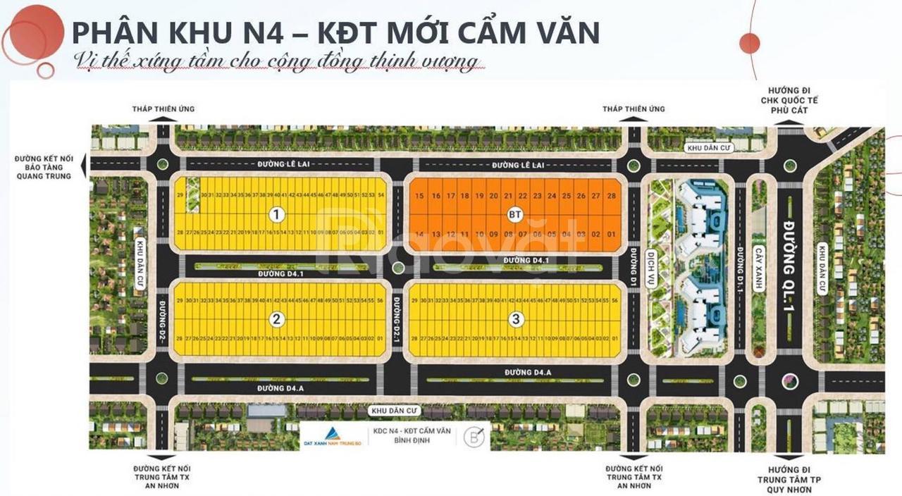 Bán đất khu đô thị lớn nhất Bình Định
