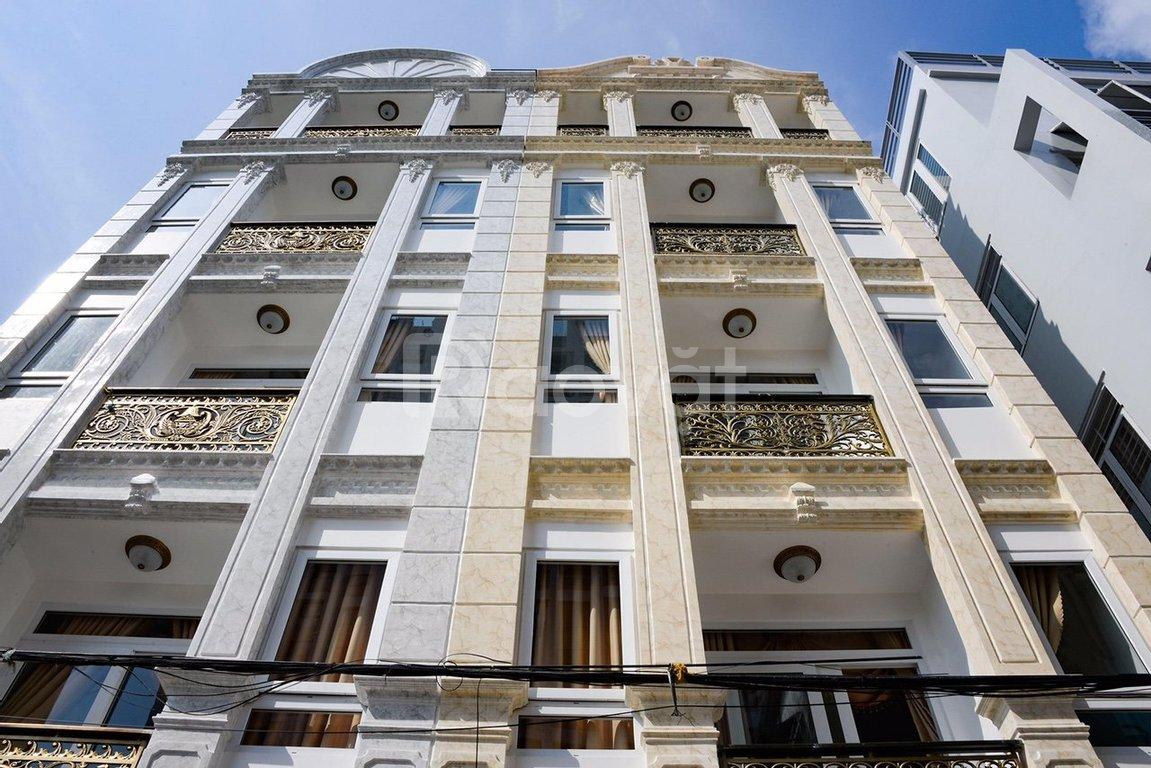 Cần bán gấp nhà mặt tiền 5 lầu, mới xây dựng 2020