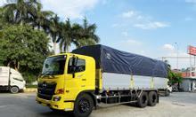 Hỗ trợ phí trước bạ 1% dòng xe Hino 15 tấn thùng dài 7m7