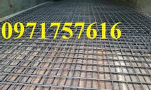 Lưới hàn mạ kẽm tấm 1.2x3m giá rẻ
