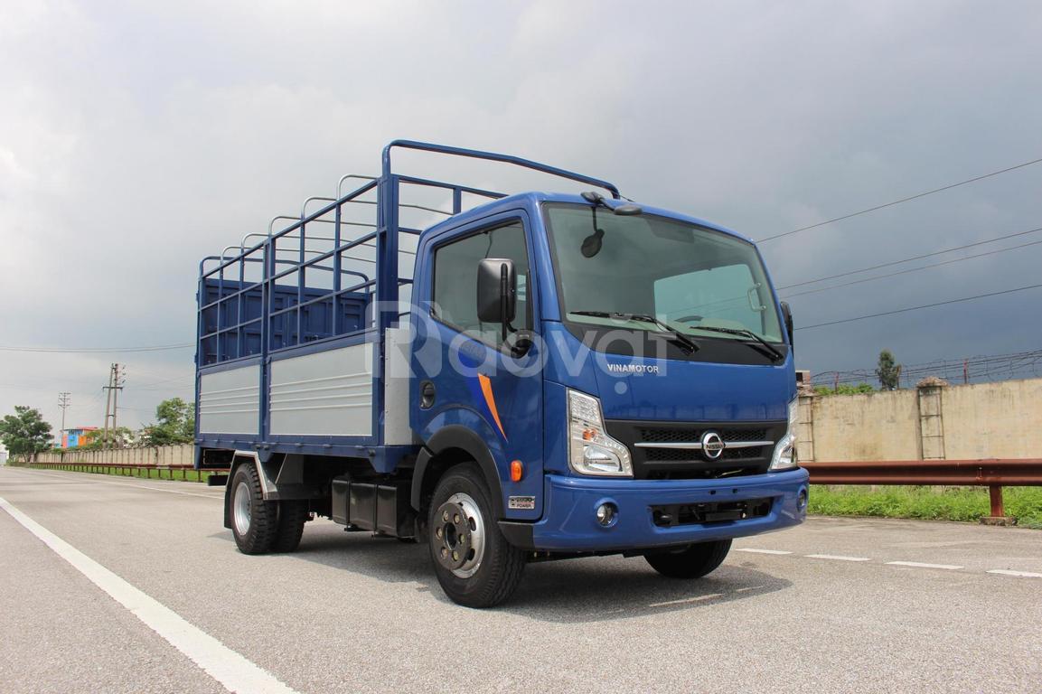 Xe tải nissan 3.5 tấn tiết kiệm dầu, xe tải vinamotor 3t5 thùng 4m3