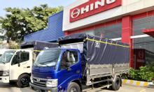 Xe Hino nhập khẩu Indonesia giá mềm, tải 4,9 tấn, thùng 4m450