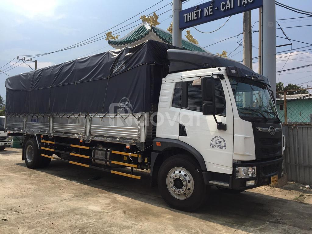 Giá bán xe tải faw 8 tấn chiều dài lọt lòng thùng 8m2 lăn bánh giấy tờ