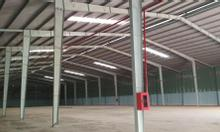 Cho thuê nhà xưởng mới đường Hồ Văn Long, Bình Tân, diện tích 6.000m2, khu logistics