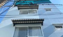 Nhà 4 tầng HXH gần chợ Hoàng Hoa Thám, phường 6 Bình Thạnh