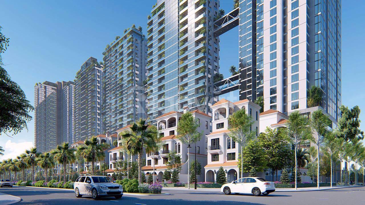 Shop villa song lập 200m2 Ciputra, xây 5 tầng, giá ngoại giao