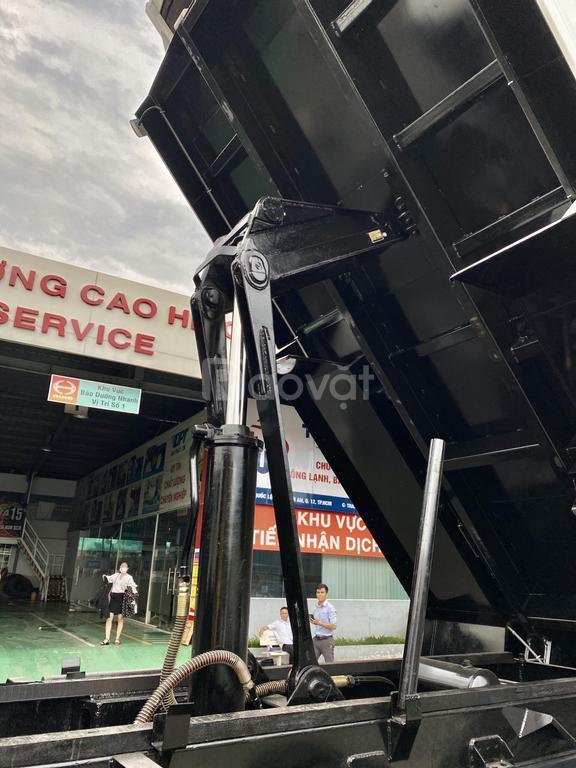 Xe Ben Hino 3 chân FM8JN7A, tải 13, 35, thùng 10, 14 khối
