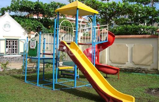 Đồ chơi cầu trượt cho trường mầm non, khu vui chơi, công viên