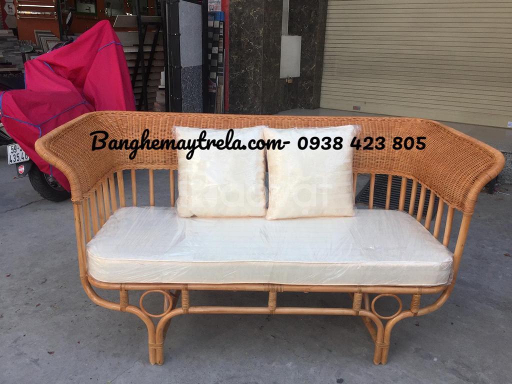 Ghế sofa mây tay xòe