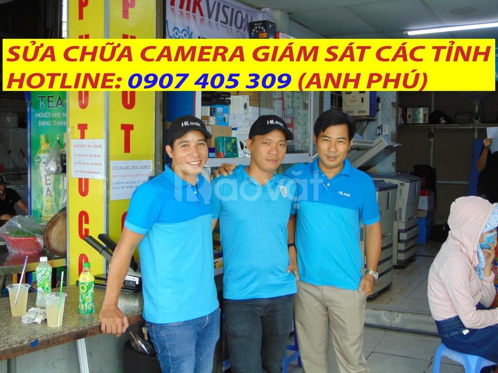 Dịch vụ sửa chữa camera giám sát HCM