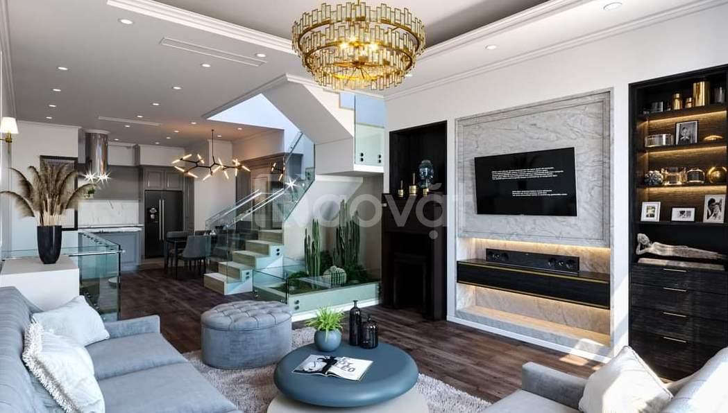 CC bán nhà mặt phố Phùng Hưng, lô góc gần Viện 103, 111m2x4T