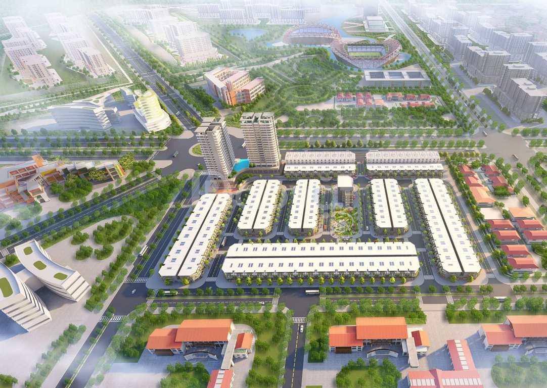 Nhà phố mặt tiền 25B Tôn Đức Thắng, The Centre House