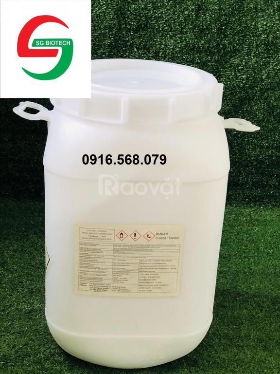 Mua bán Tcca bột, viên 200gr 90%, Tcca viên 2g 50%