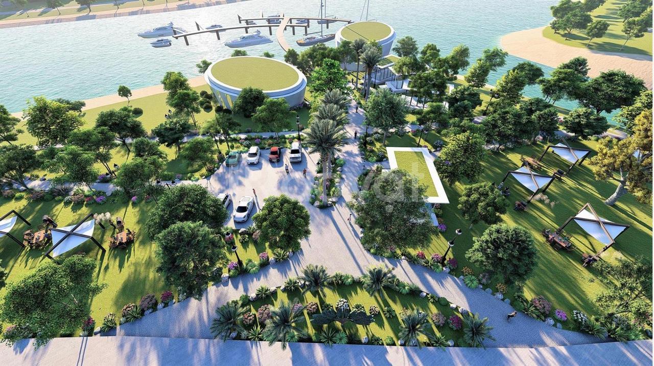 Ngoại giao biệt thự an ninh 6 cổng Làng Việt Kiều Hải Phòng, 341m2, có bể bơi, full nội thất giá rẻ