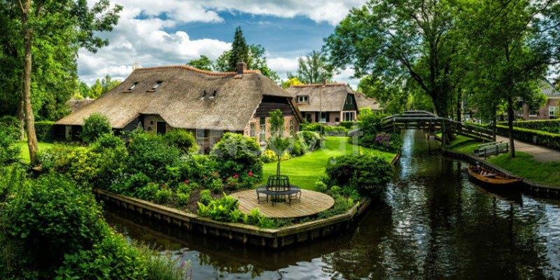 Sắp ra mắt biệt thự làng Hà Lan ở Ecopark