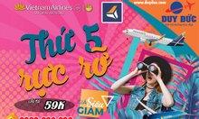 Nhân dịp 20/10 Vietnam Airlines tặng 20% giá vé