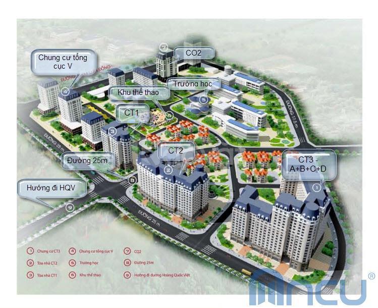 Bán căn hộ Nam Cường ngõ 234 Hoàng Quốc Việt 71m2, 2PN