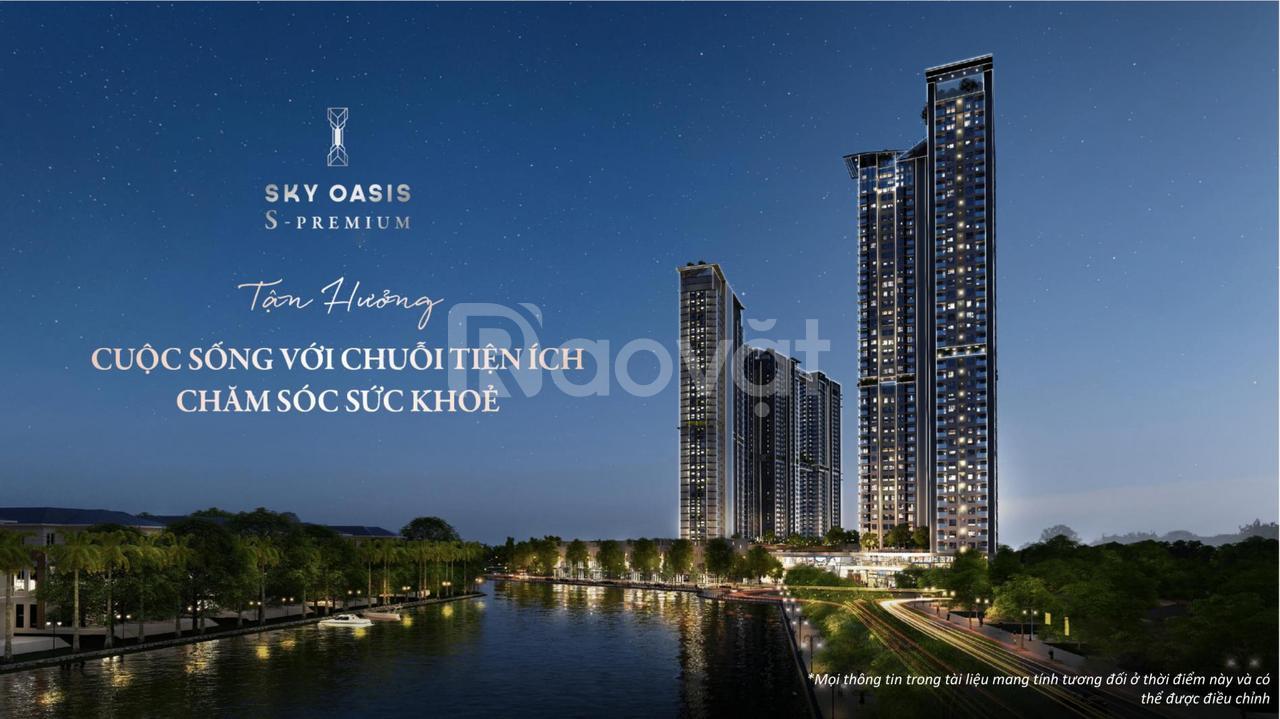 Bán căn 2PN rẻ + đẹp tòa tháp 5 sao S Premium Sky Oasis