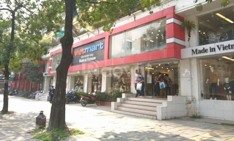 Bán nhà mặt phố Hoàng Văn Thái, 50m2, 5 tầng, kinh doanh sầm uất