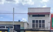 Cho thuê nhà mặt tiền đường Phạm Hùng, 1 trệt, 1 lầu có nở hậu