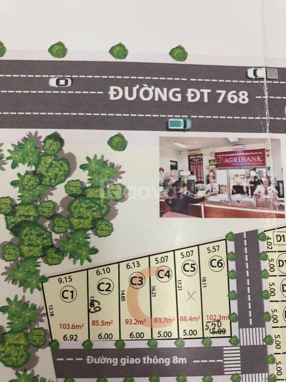 Mở bán đất nền dự án KDC An Gia Phú, diện tích từ 85-100m vuông