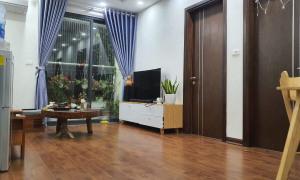 Căn hộ đầy đủ nội thất tầng cao thoáng mát, view đẹp tại An Bình City