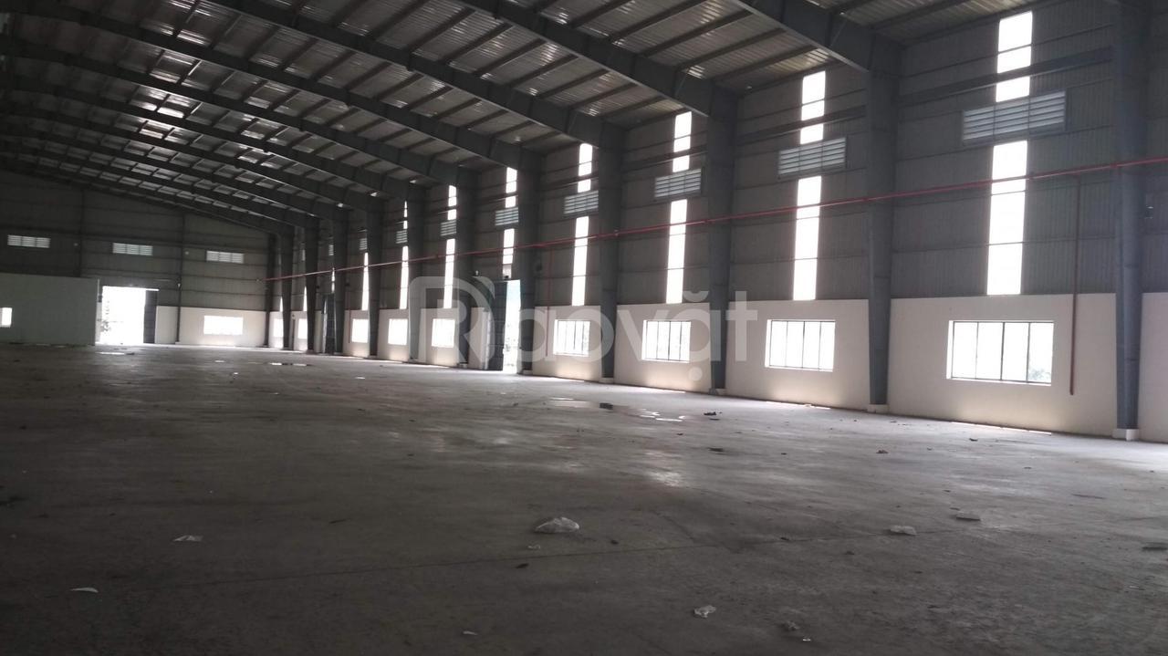 Cho thuê nhà xưởng 4.500m2 gồm cả kho bãi Quốc Lộ 1A, Quận 12, giá tốt