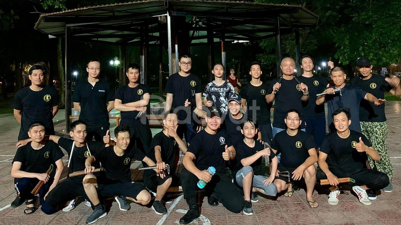 Tuyển sinh học viên khóa gia sư côn nhị khúc và võ thuật tự vệ