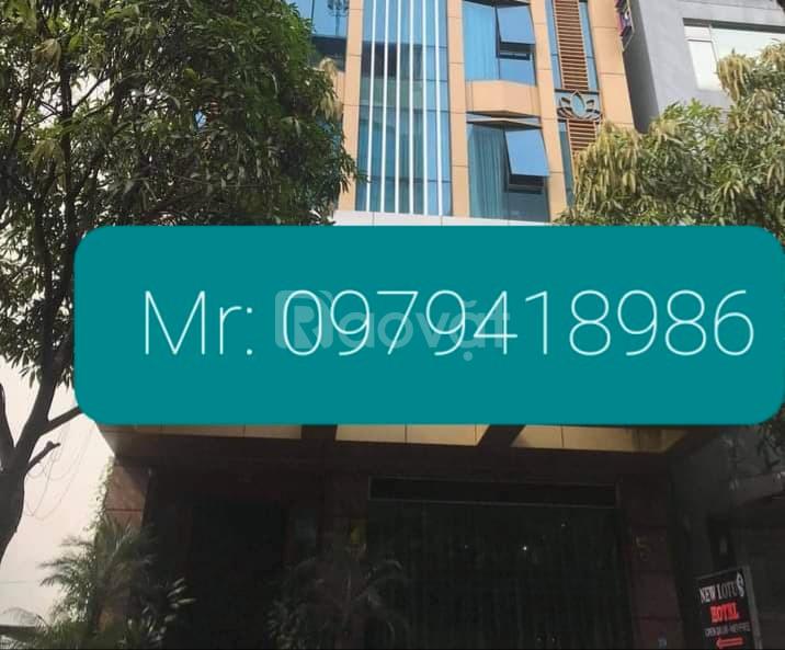 Bán nhà mặt phố Thọ Pháp 137m x 9T, MT 9m, vuông đét