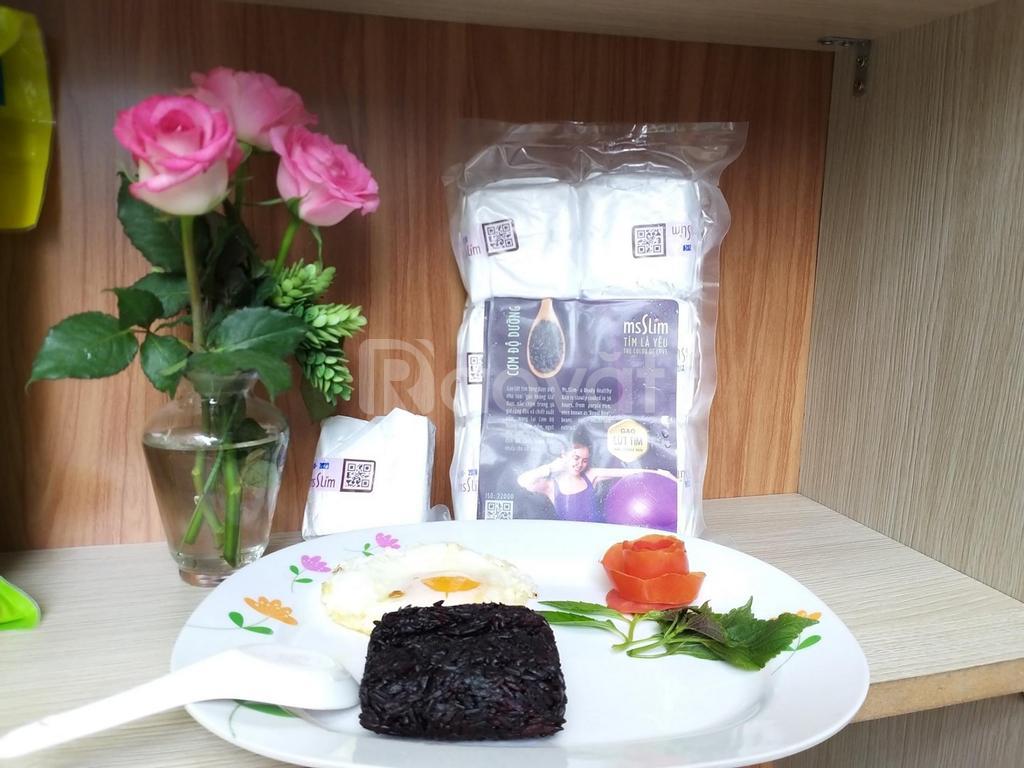Cơm gạo lứt nấu sẵn MsSlim, cơm giảm cân dành cho chị em phụ nữ