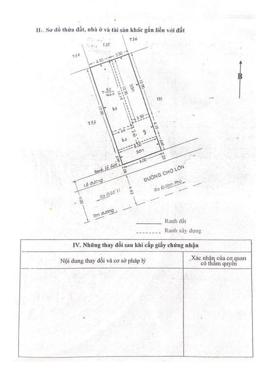 Bán nhà mặt tiền đường Chợ Lớn, Phường 11, Quận 6