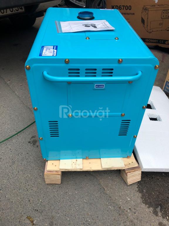Máy phát điện chạy dầu Kamastsu kd6700