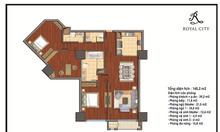 Bán gấp căn hộ Royal City, 145m2, 3PN