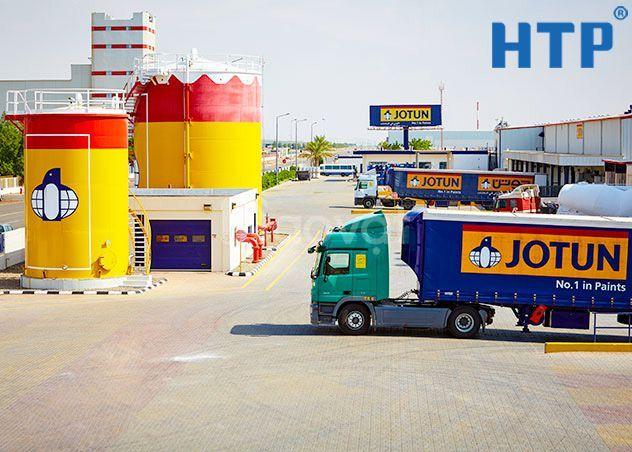 Đối tác cung cấp sơn epoxy Jotun Hardtop XP cho công trình