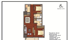 Giá tốt, căn hộ 88m2 2PN Royal City
