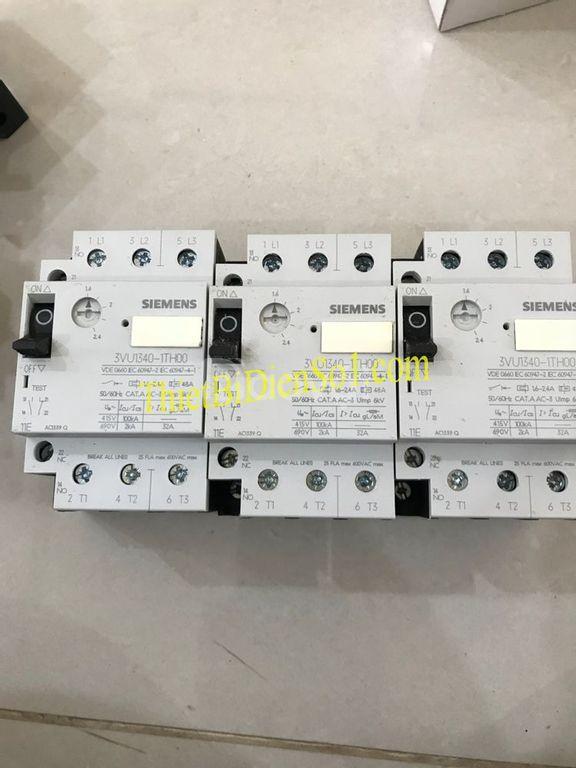 Bộ ngắt mạch Siemens 3VU1340-1TH00, công ty thiết bị điện số 1