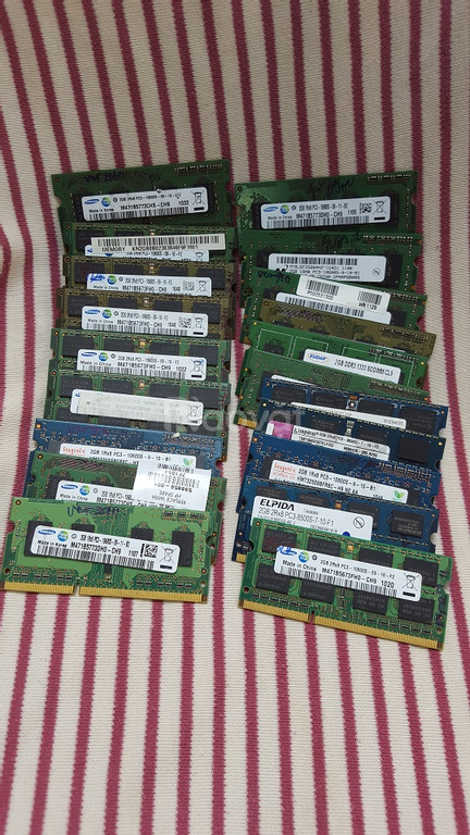 Ram laptop 2GB DDR3, ram laptop tháo máy
