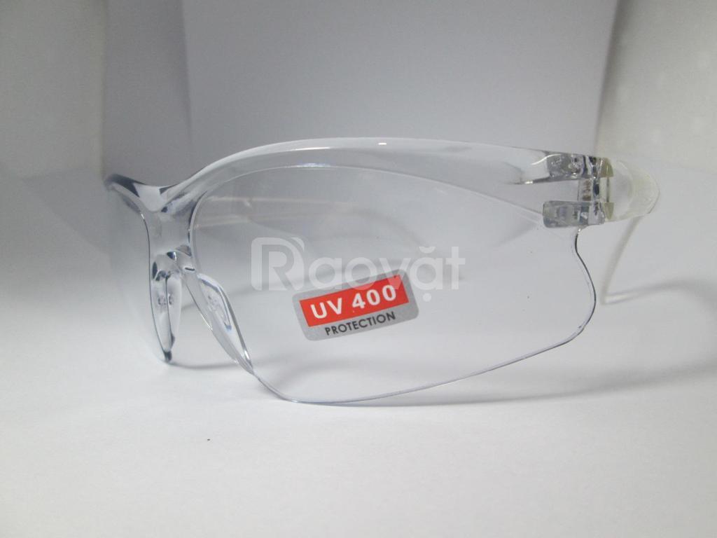 Mắt kính đi đường trong suốt, kính bảo hộ chống bụi UV400